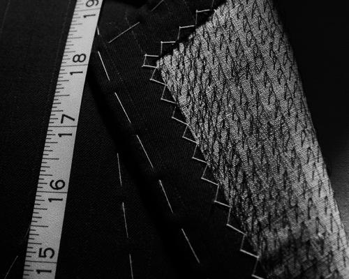 cinta metrica blanco y negro